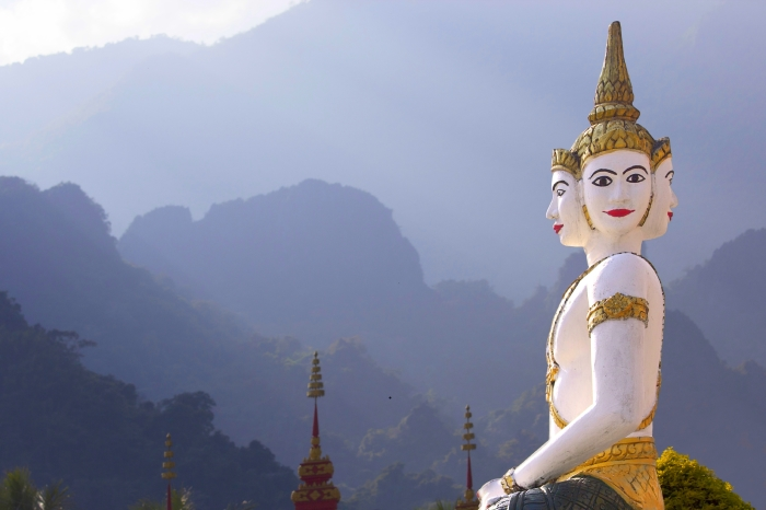 Buddah statue, Laos