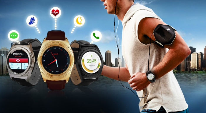 Prodigy smart watch with fitness tracker