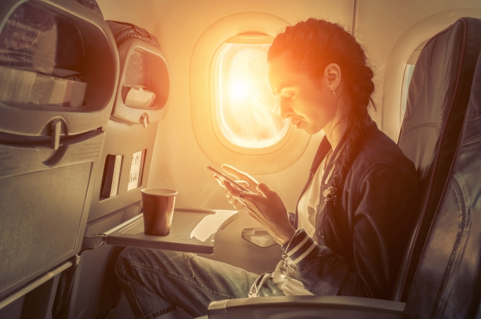 Getting WiFi on a plane