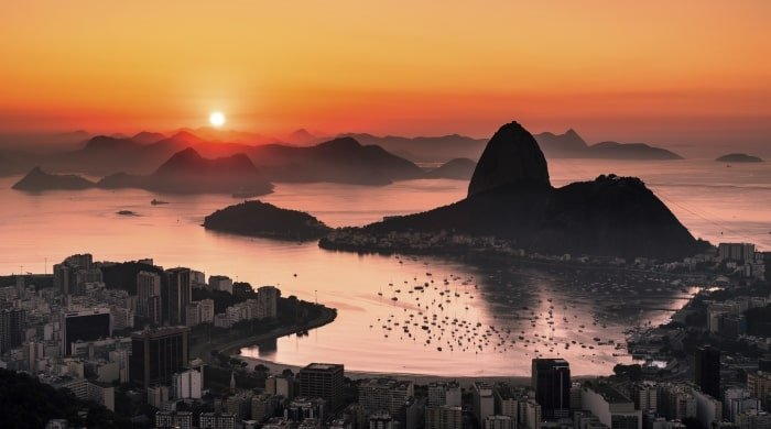 Sunset in Brazil