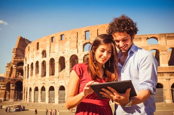 Worldwide data SIM in Rome