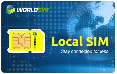 WorldSIM Local Sim Card