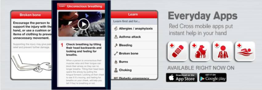 Red Cross First Aid App