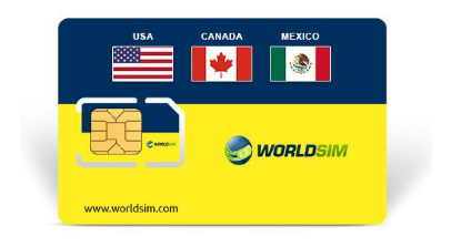 USA WorldSIM Card