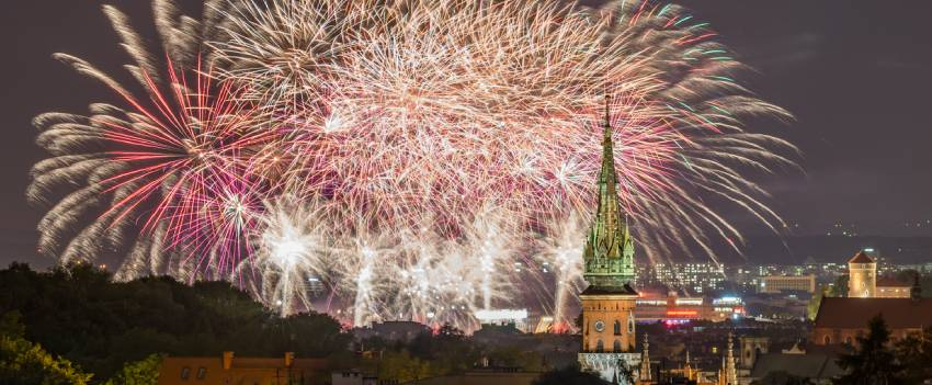 Wianki Festival Fireworks